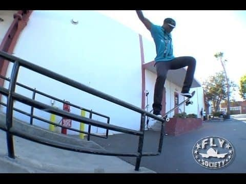 Fly Society Skate Team Shreds The Streets of L.A. - FlySocietyOnlineTV