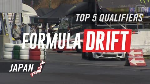 Formula Drift Japan Round 1 - Top 5 Qualifiers - Network A