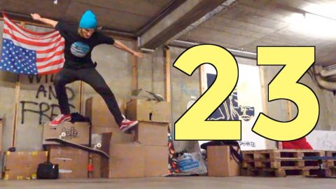 FORWARD DOUBLE HEELFLIP | ROUND 23 | Global Game of Skate