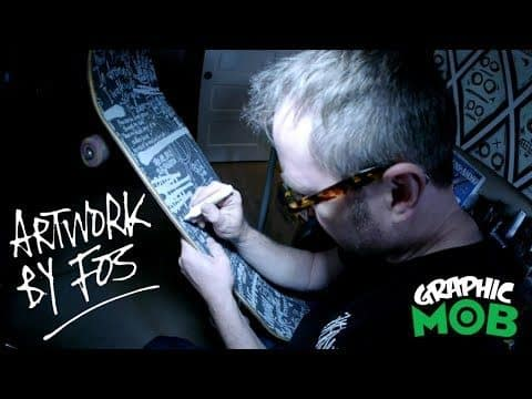 "FOS x Graphic MOB Grip - Mark ""FOS"" Foster Design Process - Mob Grip"