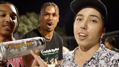 Four Loko Game of S.K.A.T.E *Jewburt vs Lamont Holt* | Lamont Holt