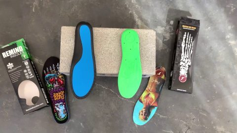 FP Insoles comparison cinder block test | Footprint Insole Technology