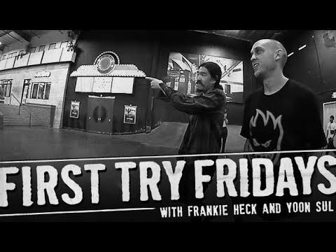 Frankie Heck - First Try Friday - The Berrics