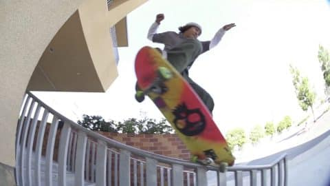 "Franky Villani: ""Colors"" x Graphic MOB Griptape - Mob Grip"
