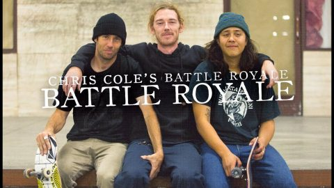 Franky Villani Vs. Dane Burman - Battle Royale | The Berrics