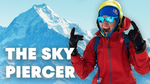 Freeskiing New Zealand's Highest Mountain | The Sky Piercer (Full Movie) | Red Bull
