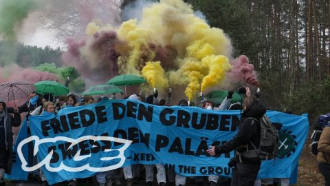 Fridays For Future Goes Ende Gelände | VICE
