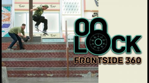 Frontside 360 Everything In The Berrics?! With Ryan Decenzo | On Lock | The Berrics