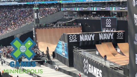 FULL BROADCAST: America's Navy Skateboard Big Air Final | X Games Minneapolis 2017 - X Games