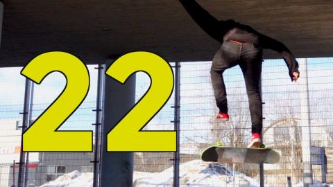 FULL CAB CANCEL HEELFLIP | ROUND 22 | Global Game of Skate