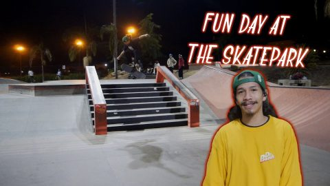 Fun Day At The Skatepark | Vinh Banh