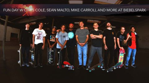 Fun Day w Chris Cole, Sean Malto, Mike Carroll and More at Biebelspark - Mikey Taylor