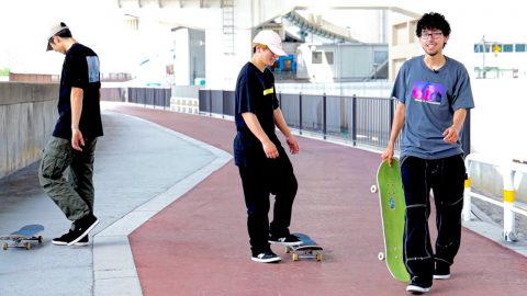 FUN DAY WITH THE SKATE CREW   Luis Mora