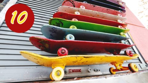Fun With 10 SKATEBOARDS - Chris Chann