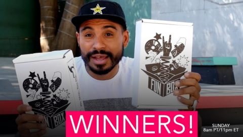 Funbox Monthly Giveaway WINNER! - MannysWorld