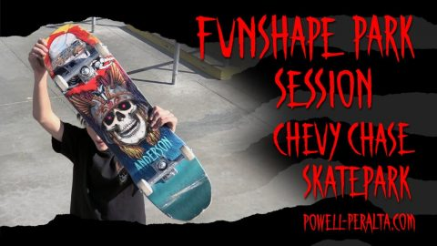 "'Funshape Park Session' Anderson 8.45"" - Chevy Chase Skatepark 