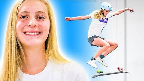 FUTURE OLYMPIAN SHREDS THE BRAILLEHOUSE! | Braille Skateboarding