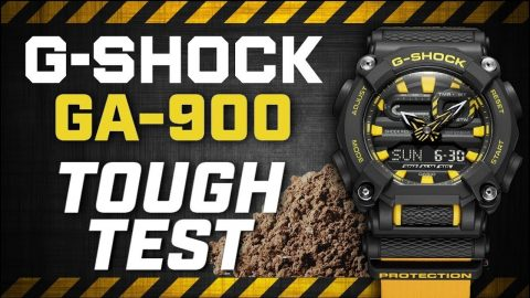 G-SHOCK - Tough Test with the GA-900 | CLASSIC | #NeverGiveUp | G-SHOCK Europe