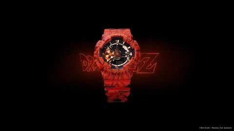 G-SHOCK x DRAGON BALL Z Limited Edition | GA-110JDB | #NeverGiveUP | gshockeu