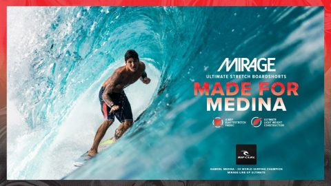 "Gabriel Medina Line Up Ultimate 20"" Mirage Boardshort 