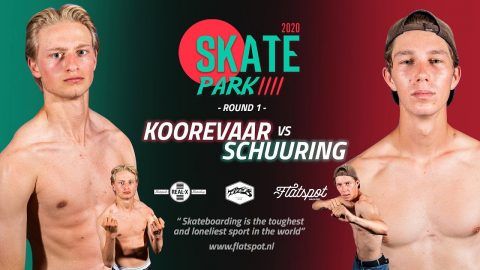 Game of SKATEpark 4 - Game #1 - Koorevaar vs Schuuring | Flatspot Magazine