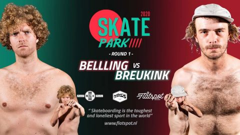Game of SKATEpark 4 - Game #2 - Belling vs Breukink | Flatspot Magazine