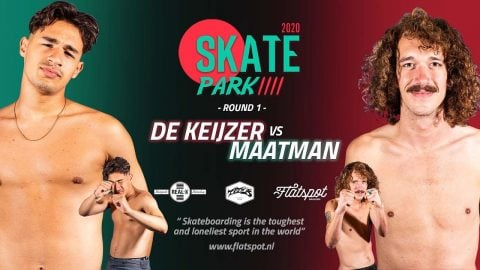 Game of SKATEpark 4 - Game #3 - Jelle Maatman vs Jay de Keijzer | Flatspot Magazine