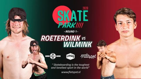 Game of SKATEpark #4 - Game #8 - Bert Roeterdink VS Bert Wilmink | Flatspot Magazine