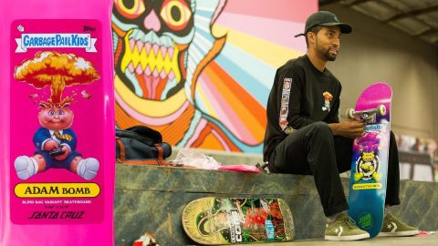 Garbage Pail Kids Unboxing - with Santa Cruz's Maurio McCoy - The Berrics