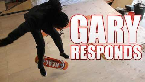 Gary Responds To Your SKATELINE Comments - Dane Burman Nollie Heel, Shane Oneill Janoski, Gino | Metro Skateboarding
