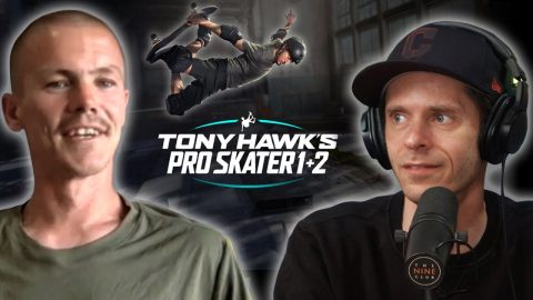 Geoff Rowley Talks About Being In The New Tony Hawks Pro Skater 1 & 2 | Nine Club Highlights