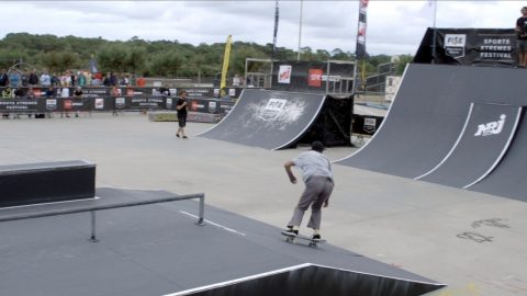 GEORGE POOLE - 1st Final SKATE - FISE Xperience ANGLET 2017 - FISE