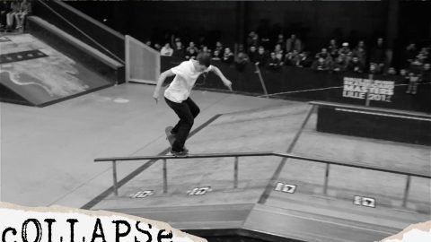 George Poole & Matt Débauché – Coupe de France – Lille | cOLLAPSe skateboards