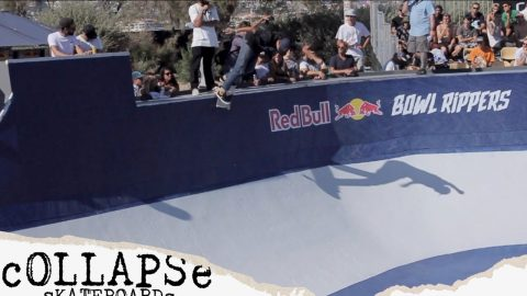 George Poole @ #RedBullBowlRippers Marseille | cOLLAPSe skateboards