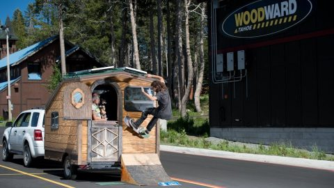 Getting Spacey In The Sierras With Ryan Reyes | Woodward Camp