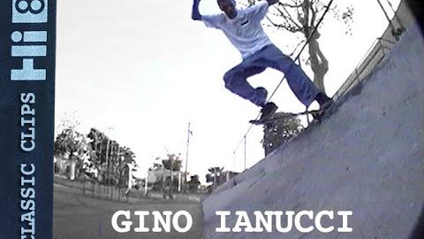 Gino Ianucci Skateboarding Classic Clips #276 | Skateintheday