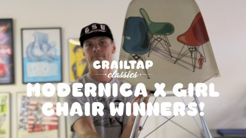 Girl x Modernica Modern Chairs Giveaway Winner! - crailtap