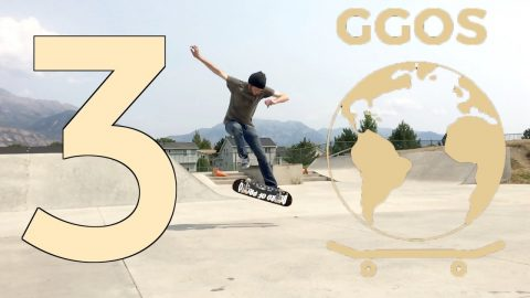 GLOBAL GAME OF SKATE | ROUND 3 RECAP | NOLLIE LATE FLIP | Global Game of Skate