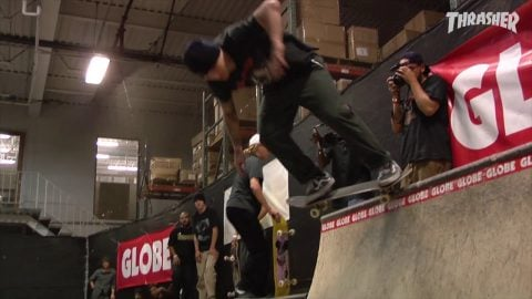 "Globe's ""Snake Session 2"" Video 
