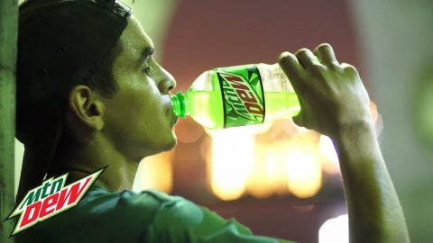 Glow In The Dark Skateboarding with Carlos Lastra | Mountain Dew - Mountain Dew