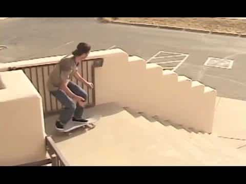 Gnarly Firecracker Boardslide Down Crazy Stair Set Hubba!?!! - Ryan Lay - Behind the Clips - Metro Skateboarding
