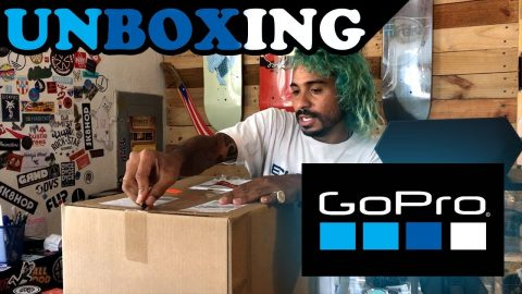 GO PRO UNBOXING!(NEW CAMERA) | MannysWorld