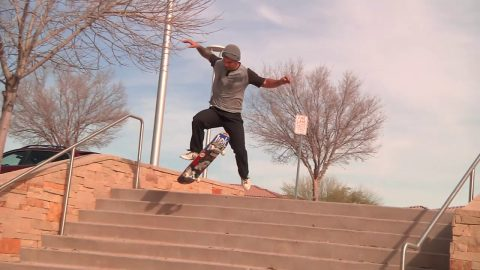 'GO RIDE A SKATEBOARD' CJ Bartlett 2015 | Cowtown Skateboards