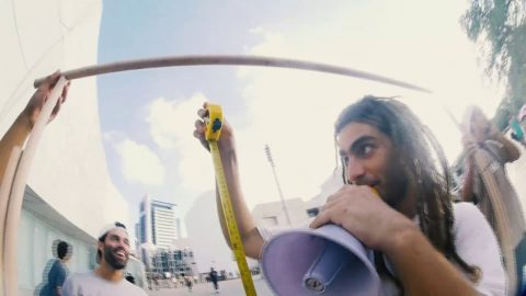 GO SKATE DAY ISRAEL 2019 - JIN -G Ollie-mpics | Dolores Magazine