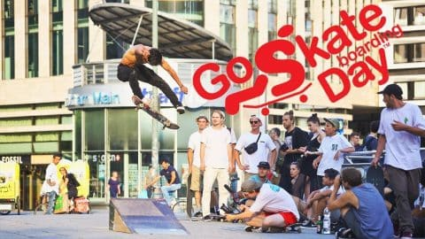 Go Skateboarding Day 2017 in Frankfurt am Main | Supported by Titus Frankfurt - Titus