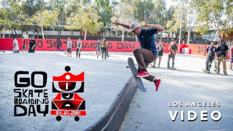 Go Skateboarding Day in LA with Nyjah Huston, Paul Rodriguez, Eric Koston, and more | GrindTV - GrindTV