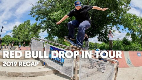 Go Skateboarding Day & NYC Best Trick with Torey Pudwill, Jamie Foy & More | RED BULL DROP IN TOUR | Red Bull Skateboarding
