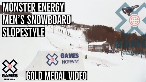 GOLD MEDAL VIDEO: Monster Energy Men's Snowboard Slopestyle | X Games Norway 2020 | X Games