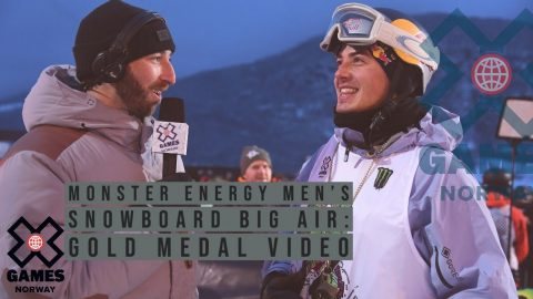 GOLD MEDAL VIDEO: Monster Energy Men's Snowboard Big Air | X Games Norway 2020 | X Games