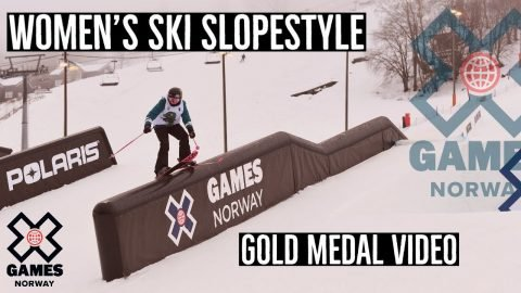 GOLD MEDAL VIDEO: Women's Ski Slopestyle | X Games Norway 2020 | X Games
